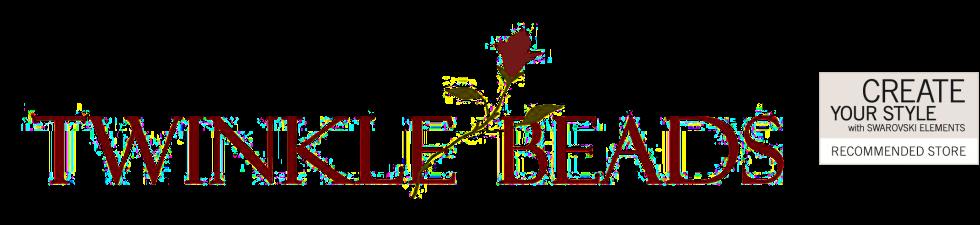 Twinkle Beads - Online-Shop für Perlen und Perlenschmuck, Swarovski Elements, Toho Rocailles, Miyuki Delicas und Zubehör-Logo