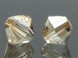 SWAROVSKI #5328 2.5mm Crystal Golden Shadow (001 GSHA)